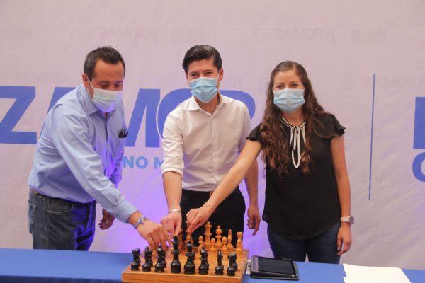 """Con éxito concluyó el primer torneo de ajedrez """"Gambito de Damas zamorano"""""""