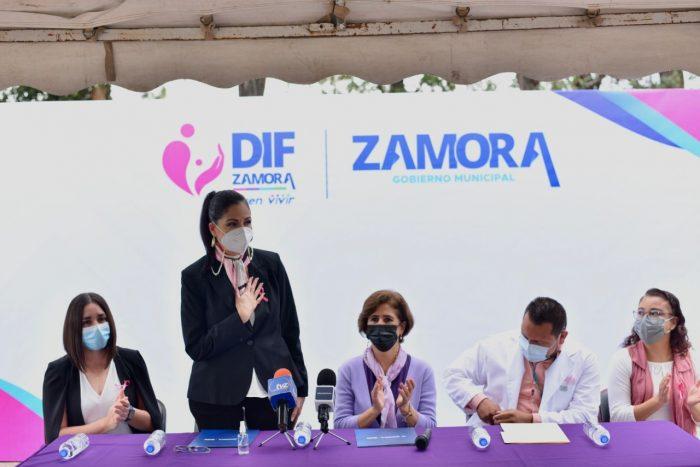 Rocío Soto, presidenta del DIF Zamora, anunció Campaña de Papanicolau
