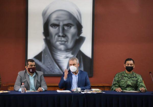 Encabezó Ramírez Bedolla reinstalación de trabajos del Consejo Estatal de Vacunación