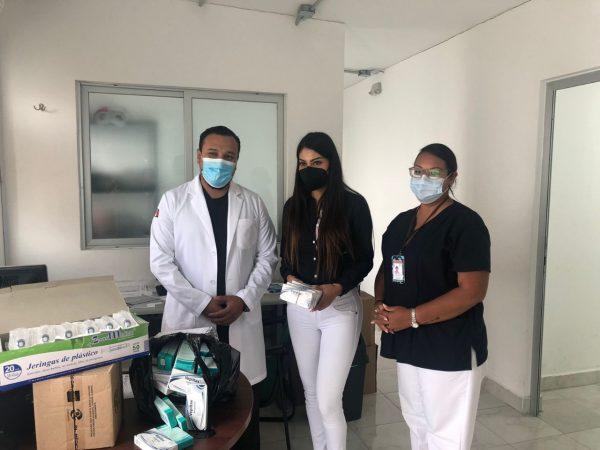 Gobierno Municipal de Jacona entregó medicamentos a la zona COVID del IMSS Zamora