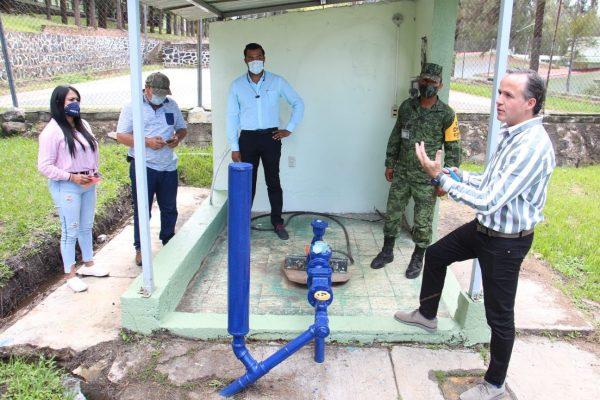 SAPAZ atendió problemática de abastecimiento de agua en el 17 Batallón de Infantería