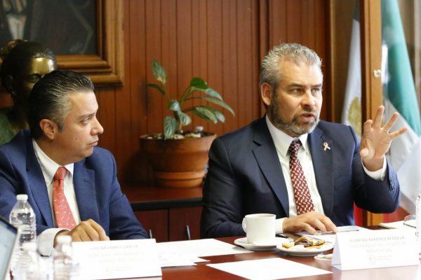 *Presentará Alfredo Ramírez propuesta para estabilizar finanzas del estado*