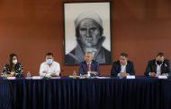 *Bedolla acuerda con ediles perredistas trabajar en coordinación por Michoacán*