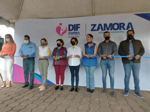 Rocío Soto, presidenta del DIF, encabezó la reapertura del CEDECO El Verge