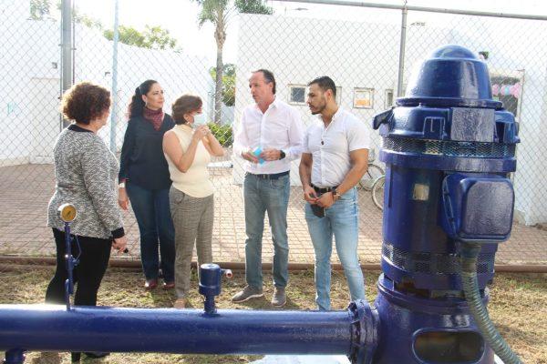 Dan mantenimiento a las fuentes de abastecimiento del SAPAZ