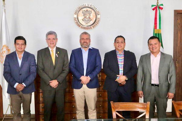Fructífera primera reunión con Gobernador de Michoacán: Oscar Escobar