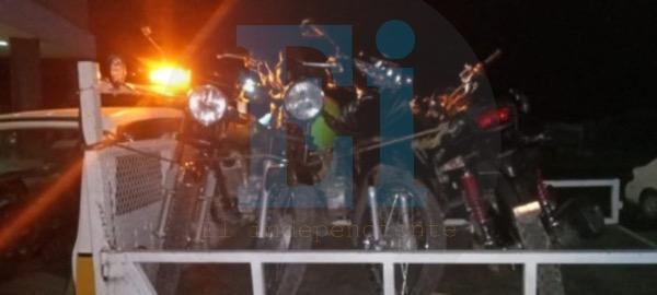 Detonaciones movilizan a la policía en Zamora, aseguran 3 motocicletas