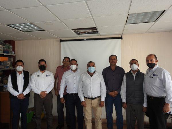 Directivos del Tec Zamora se reúnen con el alcalde Isidoro Mosqueda para impulsar acciones en pro del municipio.