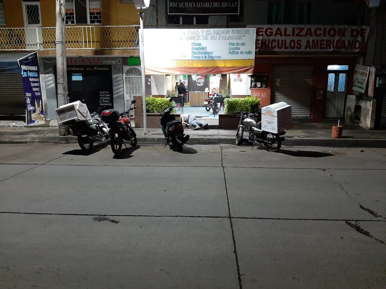 Delincuentes matan a trabajador de pizzería en la colonia Las Fuentes
