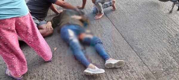Fallece en hospital la mujer que fue arrollada por camión de pasajeros, en Zamora
