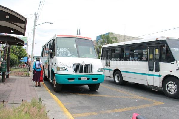 """Pondrán en marcha """"Viaje Seguro"""" para disminuir riesgos de COVID en microbuses"""