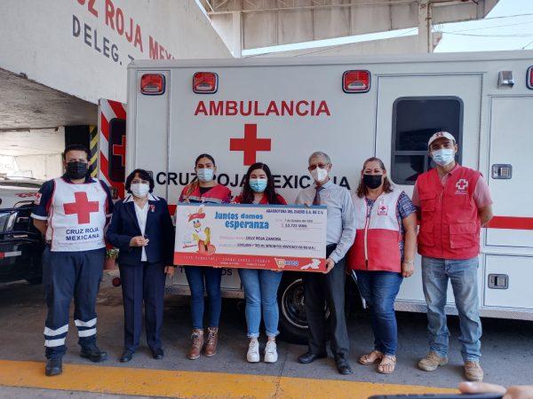 Cruz Roja Zamora en situación crítica en materia económica debido a la pandemia