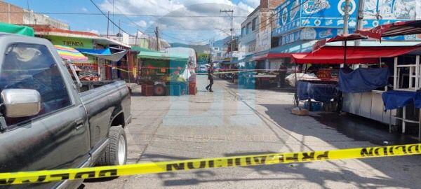 Comerciante es asesinado en las inmediaciones del Mercado Hidalgo