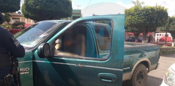 Conductor de camioneta es asesinado de un balazo en la cabeza, en La Rinconada