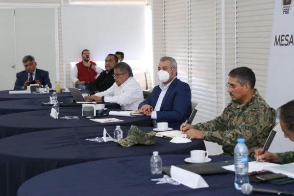 Instala gobernador Alfredo Ramírez Bedolla la Mesa de Seguridad en Región Oriente