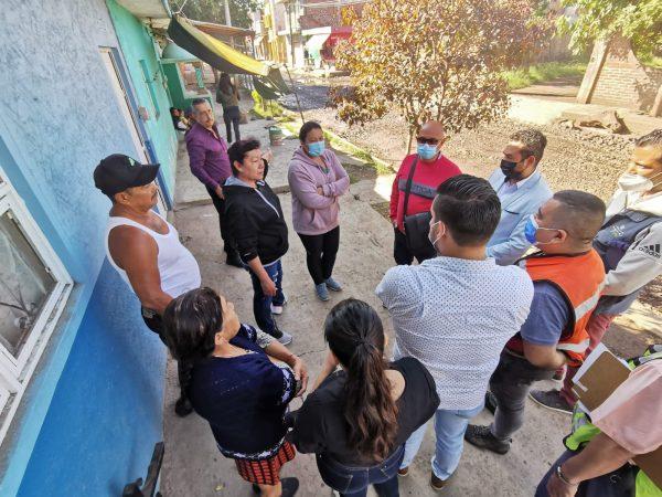 Gobierno de Zamora atendió a vecinos de la avenida Lázaro Cárdenas Norte