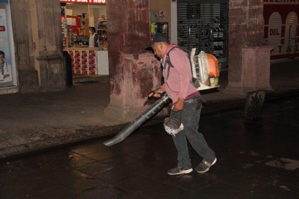 Mejoran imagen de los espacios públicos en Zamora