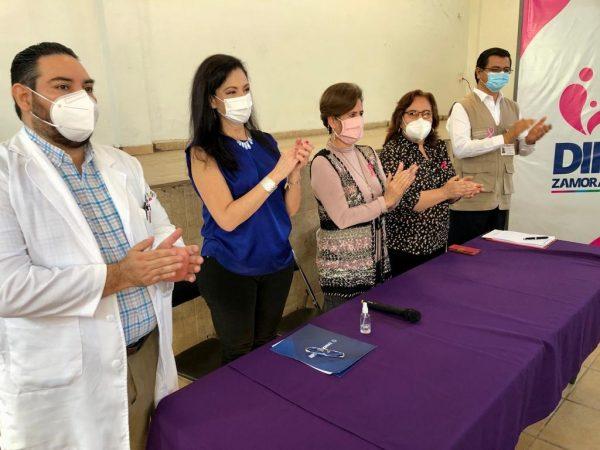 DIF Zamora cierra campaña de mastografía