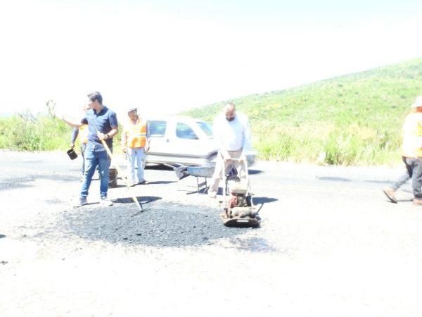 Isidoro Mosqueda enfocado en atender el deterioro de vialidades en Jacona