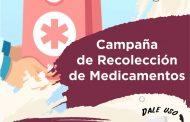 """Autoridades ponen en marcha programa de donación de medicamentos """"Dale uso y ayuda a alguien más"""""""