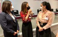 La presidenta del sistema DIF Rocío Soto, participó en la capacitación del DIF Nacional