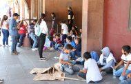 Lamentan simulación de donación para escuela en Acanto