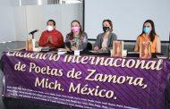 Llegará al palacio de Bellas Artes el Encuentro Internacional de Poetas