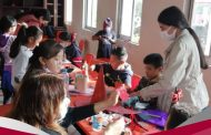 Realizan enseñanza de actividades manuales a niños de distintas colonias de Jacona