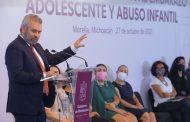 Gobierno de Michoacán trabaja estrategia para erradicar violencia sexual y embarazo adolescente